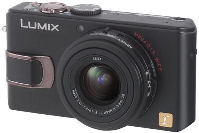DMC-LX2 (Black) Lumix 10.2 MP Digital Camera w/ 2.8` TFT LCD *(Refurbished)