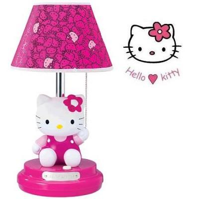 KT3095M Sitting Kitty Table Lamp - Magenta Head