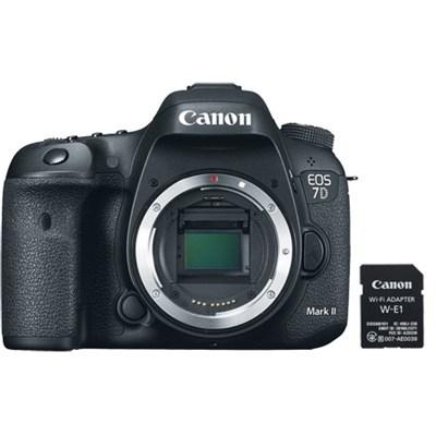 EOS 7D Mark II 20.2MP Digital SLR Camera Wi-Fi Adapter Kit