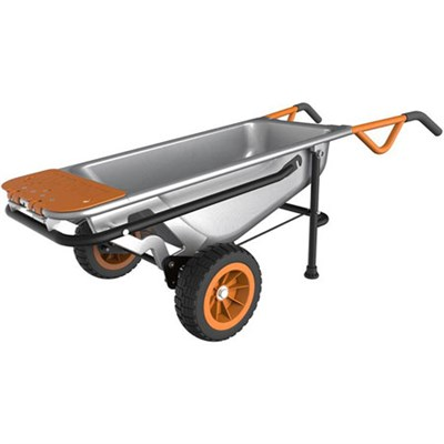 Aerocart 8-in-1 All-Purpose Wheelbarrow, Yard Cart, Dolly - WG050
