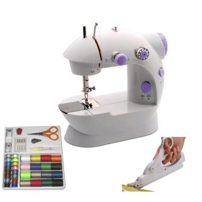 Junior Sewing Bundle: Sewing Machine, Electric Scissors, & Accessory Kit