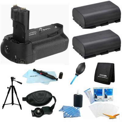 Ultimate Battery Grip Bundle for the EOS 7D Digital SLR Camera