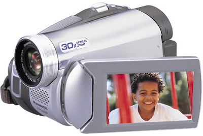 PV-GS59 Digital Palmcorder With 30x Optical Zoom, 2.7` LCD - OPEN BOX