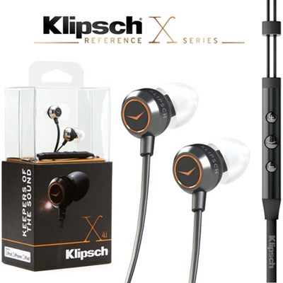 Reference X4i In-Ear Premium Headphones with In-Line iOS Remote & Mic