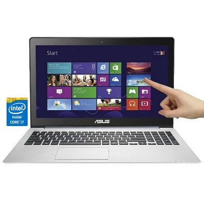Vivobook 15.6` HD Touch V551LB-DB71T Notebook - Intel Haswell Core i7-4500 Proc.