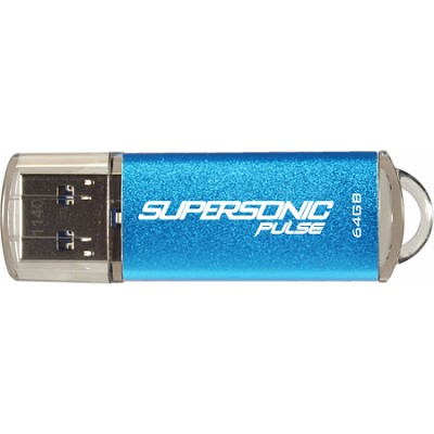 64GB Supersonic Pulse USB 3.0 Flash Drive -Up to 80MB/s speeds
