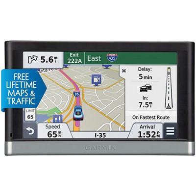 nuvi 2598LMTHD 5` GPS with Bluetooth, HD Traffic - Refurb 1 Year Garmin Warranty