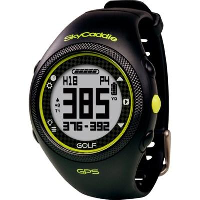 GPS Golf Watch - Black - OPEN BOX