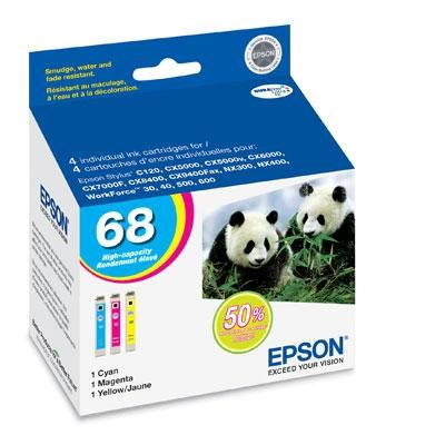 Color Multipack High Capacity Inkjet Cartridge - T068520