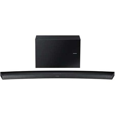 HW-J7500 - Curved 8.1 Channel 320 Watt Wireless Audio Soundbar(Black) - OPEN BOX