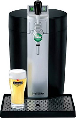 C75 BeerTender Home Beer-Tap System with Heineken DraughtKeg Technology