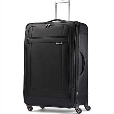SoLyte 29` Expandable Spinner Upright Suitcase Luggage - Black
