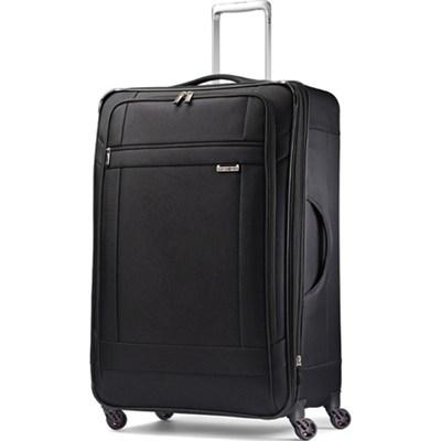 SoLyte 29` Expandable Spinner Upright Suitcase Luggage - Black