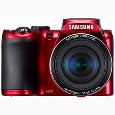 WB100 16MP 26x Optical Zoom Red Digital Camera