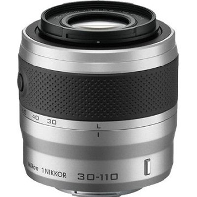 1 NIKKOR 30-110mm f/3.8 - 5.6 VR Lens Silver (Refurbished)