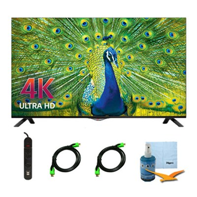 49UB8200 - 49-inch 4K Ultra HD Smart LED TV Plus Hook-Up Bundle