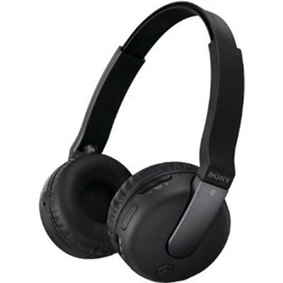 DRBTN200/BLK Bluetooth Headphones, Black - OPEN BOX