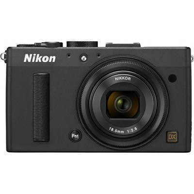 COOLPIX A 16.2MP 3.0` LCD Black Digital Camera with 1080p HD Video