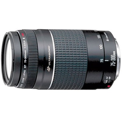 EF 75-300mm F/4-5.6 USM III Lens, With Canon 1-Year USA Warranty
