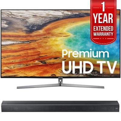 74.5` 4K UHD Smart LED TV w/ Sound+ Premium Soundbar + Extended Warranty