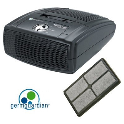 3-in-1 Table Top Air Cleaning System (AC4010) + Replacement Filter