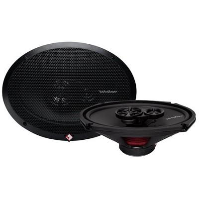 R169X3 Prime 6 x 9 Inch 3-Way Full-Range Coaxial Speaker - Set of 2