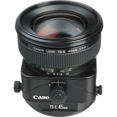 TS-E 45mm f/2.8 Tilt Shift Lens for Canon SLR Cameras