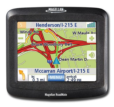 RoadMate 1212 Portable Car GPS Navigation System