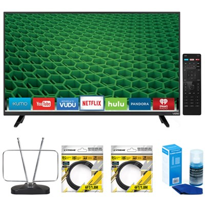 D48-D0 D-Series 48-Inch 120Hz Full-Array LED Smart TV with Accessories Kit