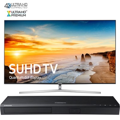 65` KS9000 SUHD Smart TV w/Ultra-Slim Bezel+ Samsung UHD Blu-Ray Player