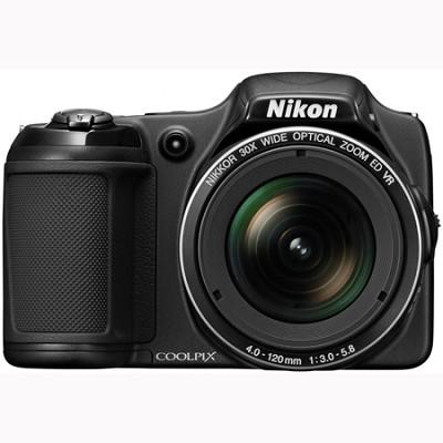 COOLPIX L820 16 MP 30x Zoom Digital Camera - Black