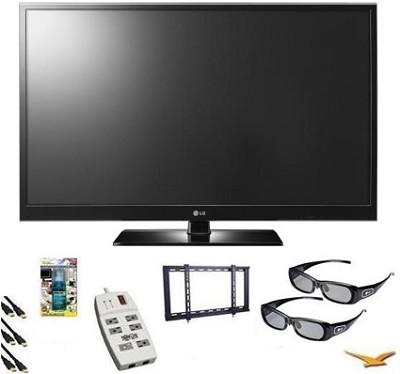 50PZ550 50-Inch Plasma HDTV 3D capable 1080P Plasma TV Bundle