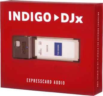 INDIGO DJx EXPRESS CARD
