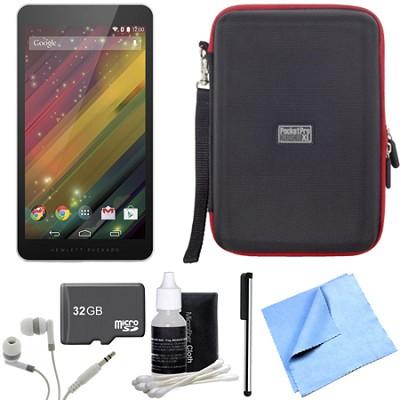7 G2-1311 J4Y28AA#ABA 7-Inch 8 GB Silver Tablet 32GB Micro SD Bundle