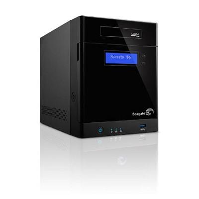 Business Storage NAS 4-Bay Diskless Network Attached Storage Enclosure STBP100