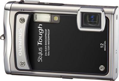 Stylus Tough 8000 12MP 2.7` LCD Digital Camera (Black)