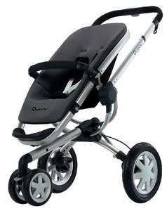 Buzz 3 Wheel Stroller (Black)