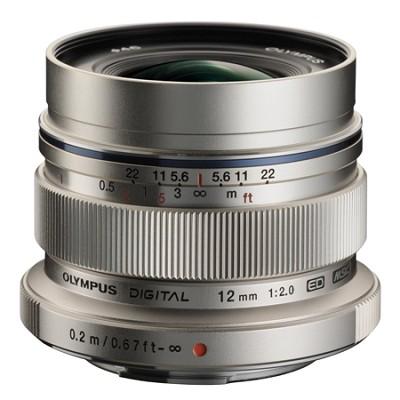 M. Zuiko Digital ED 12mm f/2.0 Lens for Micro Four Thirds Cameras
