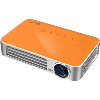 Qumi Q6 800 Lumen WXGA 720p HD LED Wireless Pocket Projector - Orange