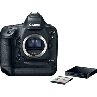 EOS-1D X Mark II Digital SLR Camera Body Premium Kit