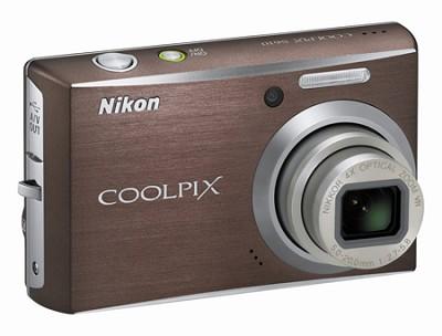 Coolpix S610 Digital Camera (Smoke Gray)