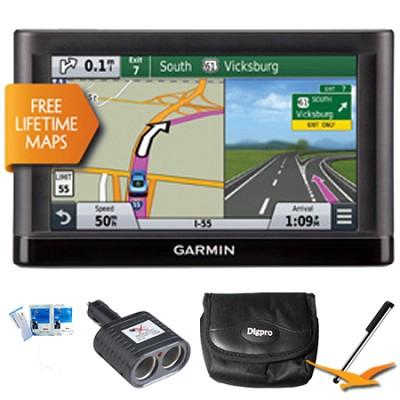 Nuvi 65LM Essential Series GPS Nav w/ Lifetime Maps 6` Display Essentials Bundle