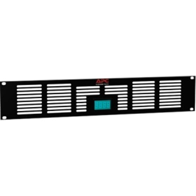 NetShelter 2U Vent Panel with Temperature Display - ACAC40000