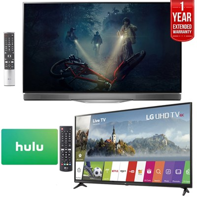 OLED55E7P 55` E7 OLED 4K TV+55UJ6300 55` Smart TV 100 Netflix+Warranty