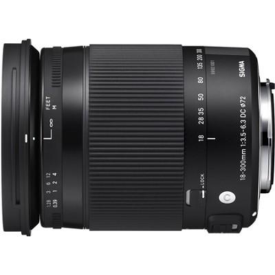 18-300mm F3.5-6.3 DC Macro HSM Lens (Contemporary) for Sony Alpha Cameras