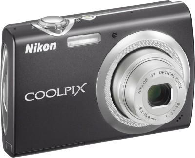 COOLPIX S230 Digital Camera (Jet Black)
