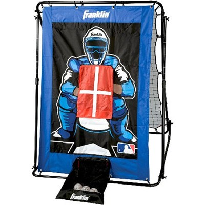 MLB 2-in-1 Trainer Pitch Target and Return Combo Set