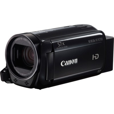 VIXIA HF R700 Full HD Black Camcorder with 57x Advanced Zoom