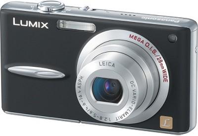 DMC-FX30K (Black) Lumix 7.2 mega-pixel Digital Camera (Refurbished)