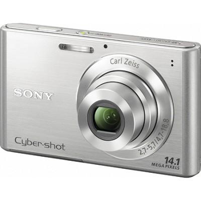 Cyber-shot DSC-W330 14MP Silver Digital Camera - Open Box